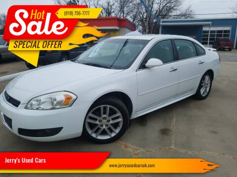 2012 Chevrolet Impala for sale at Jerry's Used Cars in Okmulgee OK