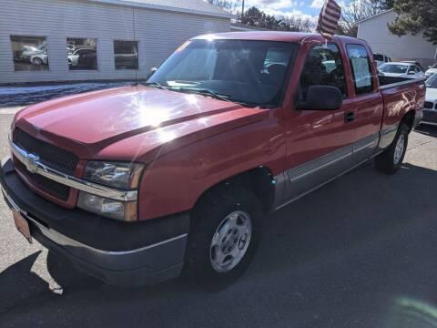 2003 Chevrolet Silverado 1500 for sale at Progressive Auto Sales in Twin Falls ID