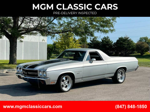 1970 Chevrolet El Camino for sale at MGM CLASSIC CARS-New Arrivals in Addison IL