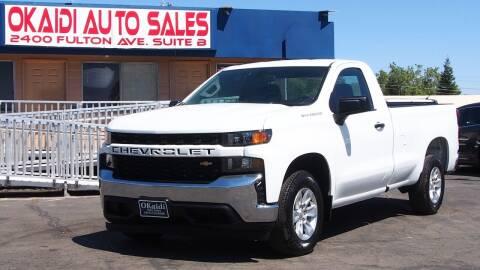 2020 Chevrolet Silverado 1500 for sale at Okaidi Auto Sales in Sacramento CA