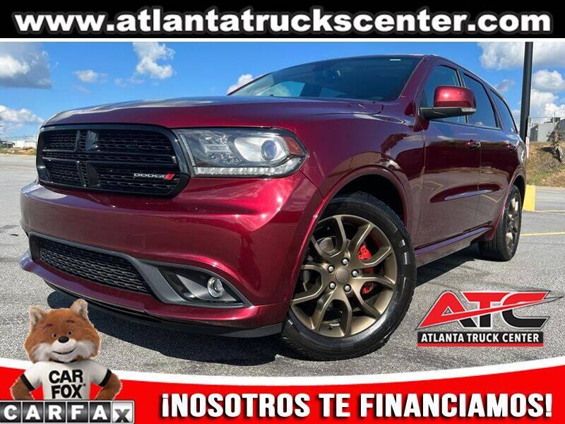 2016 Dodge Durango for sale at ATLANTA TRUCK CENTER LLC in Brookhaven GA