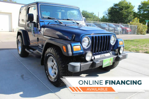 2005 Jeep Wrangler for sale at K & L Auto Sales in Saint Paul MN