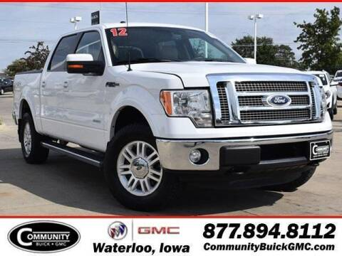 2012 Ford F-150 for sale at Community Buick GMC in Waterloo IA