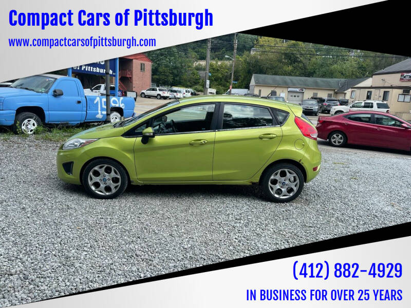 2012 Ford Fiesta for sale at Compact Cars of Pittsburgh in Pittsburgh PA