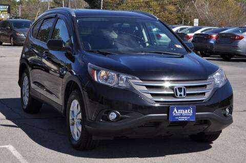 2013 Honda CR-V for sale at Amati Auto Group in Hooksett NH