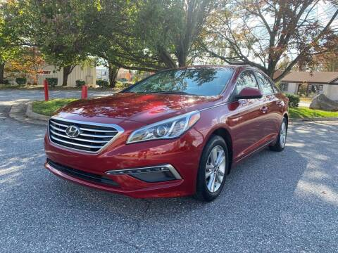 2015 Hyundai Sonata for sale at Triple A's Motors in Greensboro NC