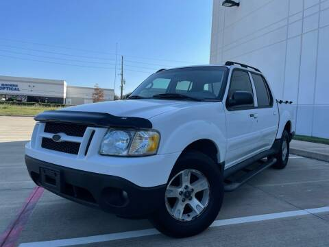2005 Ford Explorer Sport Trac for sale at TWIN CITY MOTORS in Houston TX