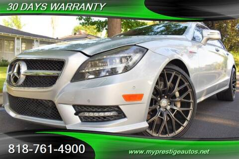 2013 Mercedes-Benz CLS for sale at Prestige Auto Sports Inc in North Hollywood CA