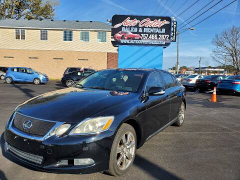 2008 Lexus GS 350 for sale at Auto Outlet Sales and Rentals in Norfolk VA