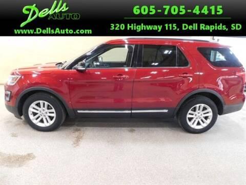 2017 Ford Explorer for sale at Dells Auto in Dell Rapids SD