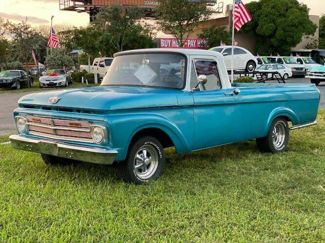 1962 Ford F-100 for sale in Cadillac, MI
