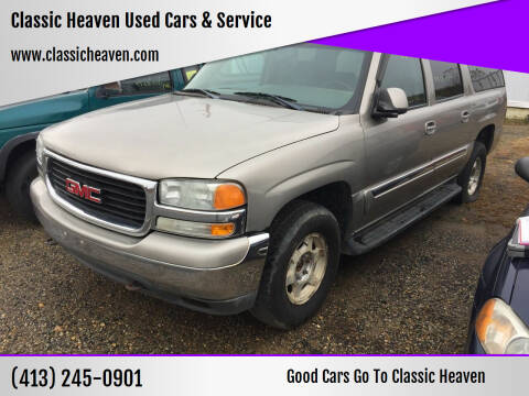 2003 GMC Yukon XL for sale at Classic Heaven Used Cars & Service in Brimfield MA