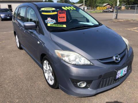 2008 Mazda MAZDA5 for sale at Freeborn Motors in Lafayette, OR