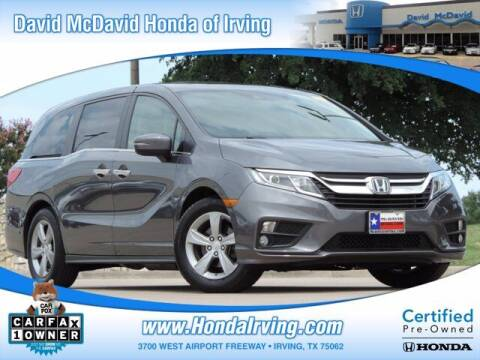 2018 Honda Odyssey for sale at DAVID McDAVID HONDA OF IRVING in Irving TX