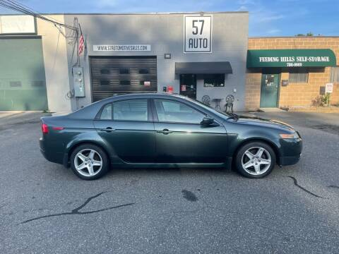 2005 Acura TL for sale at 57 AUTO in Feeding Hills MA