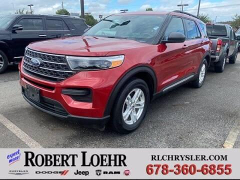2020 Ford Explorer for sale at Robert Loehr Chrysler Dodge Jeep Ram in Cartersville GA