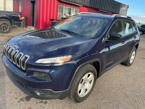 2015 Jeep Cherokee for sale at Top Line Auto Sales in Idaho Falls ID