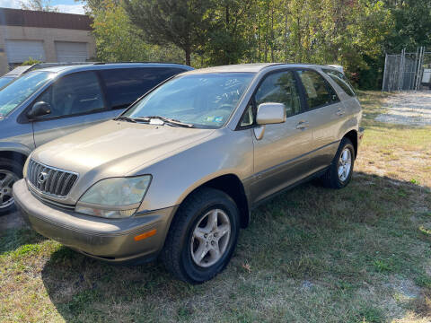 2002 Lexus RX 300 for sale at Branch Avenue Auto Auction in Clinton MD