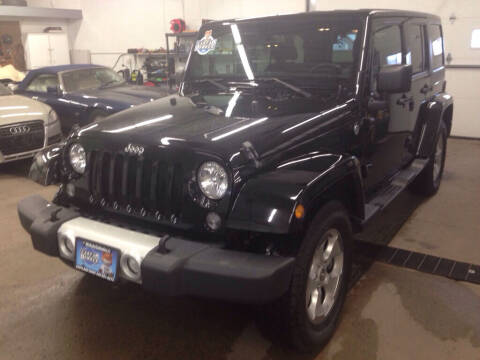 2014 Jeep Wrangler Unlimited for sale at MR Auto Sales Inc. in Eastlake OH