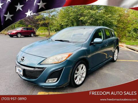 2010 Mazda MAZDA3 for sale at Freedom Auto Sales in Chantilly VA