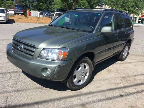 2007 Toyota Highlander for sale at BRATTLEBORO AUTO SALES in Brattleboro VT