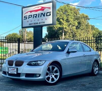 2007 BMW 3 Series for sale at Spring Motors in Spring TX