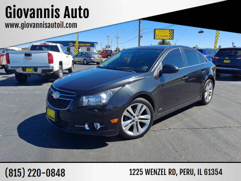 2012 Chevrolet Cruze for sale at Giovannis Auto in Peru IL