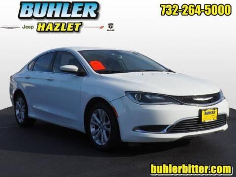 2016 Chrysler 200 for sale at Buhler and Bitter Chrysler Jeep in Hazlet NJ
