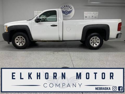 2011 Chevrolet Silverado 1500 for sale at Elkhorn Motor Company in Waterloo NE