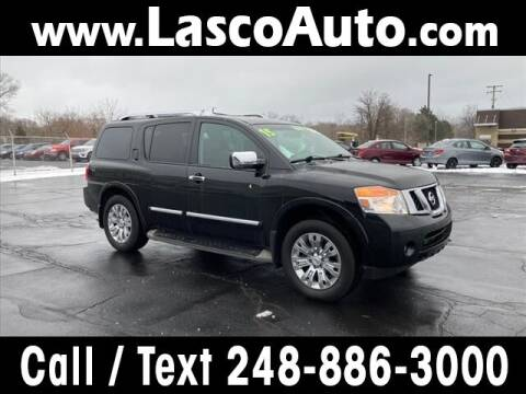 2015 Nissan Armada for sale at Lasco of Waterford in Waterford MI