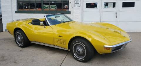 1971 Chevrolet Corvette for sale at Carroll Street Auto in Manchester NH