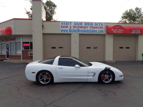 1998 Chevrolet Corvette for sale at Bickel Bros Auto Sales, Inc in Louisville KY