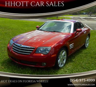 2004 Chrysler Crossfire for sale at HHOTT CAR SALES in Deerfield Beach FL