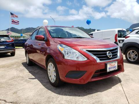 2019 Nissan Versa for sale at Ohana Motors in Lihue HI