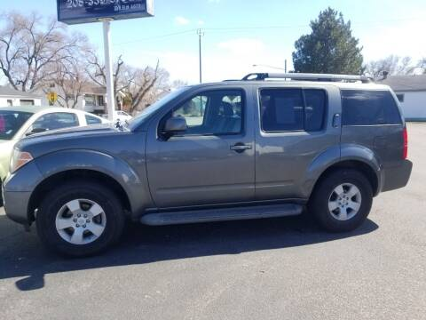 2005 Nissan Pathfinder for sale at BRAMBILA MOTORS in Pocatello ID
