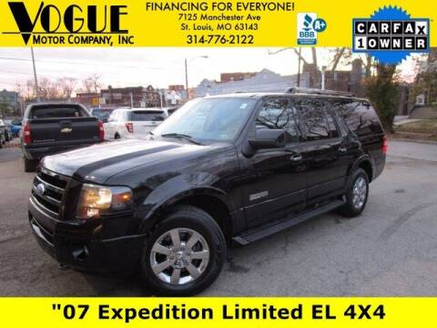 2007 Ford Expedition EL for sale at Vogue Motor Company Inc in Saint Louis MO