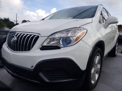 2015 Buick Encore for sale at Castle Used Cars in Jacksonville FL