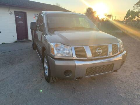 2007 Nissan Titan for sale at Excellent Autos of Orlando in Orlando FL
