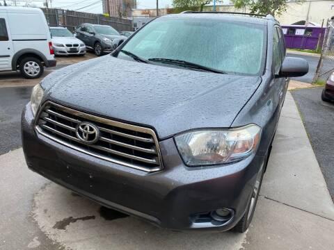 2008 Toyota Highlander for sale at Alexandria Auto Sales in Alexandria VA