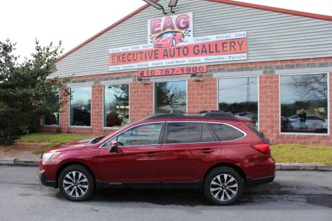 2016 Subaru Outback for sale at EXECUTIVE AUTO GALLERY INC in Walnutport PA