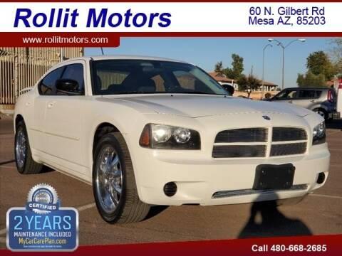2008 Dodge Charger for sale at Rollit Motors in Mesa AZ