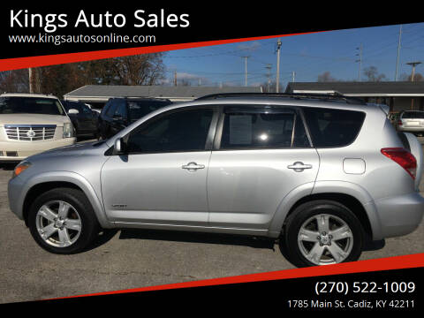 2007 Toyota RAV4 for sale at Kings Auto Sales in Cadiz KY