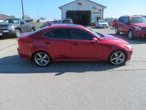 2009 Lexus IS 250 for sale at Jefferson St Motors in Waterloo IA