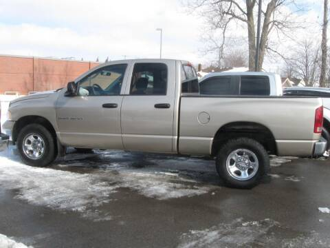 2003 Dodge Ram Pickup 1500 for sale at MCQUISTON MOTORS in Wyandotte MI