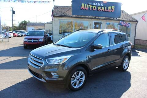 2018 Ford Escape for sale at BANK AUTO SALES in Wayne MI