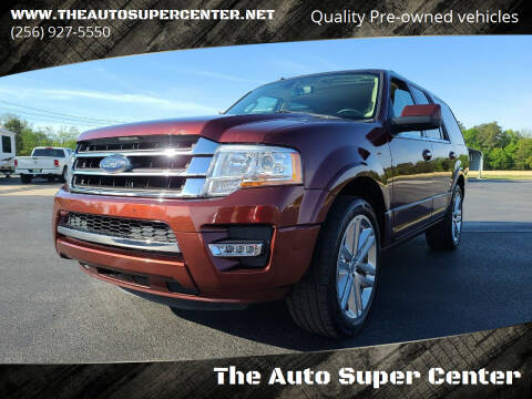 2016 Ford Expedition for sale at The Auto Super Center in Centre AL
