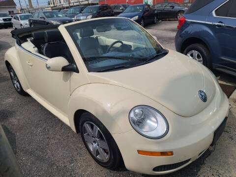 2006 Volkswagen New Beetle Convertible for sale at Rockland Auto Sales in Philadelphia PA