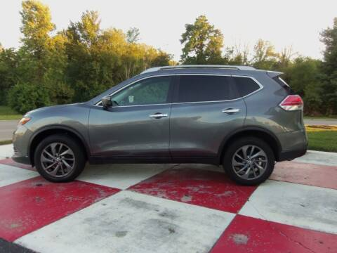 2016 Nissan Rogue for sale at TEAM ANDERSON AUTO GROUP INC - TEAM ANDERSON AUTO GROUP in Richmond IN
