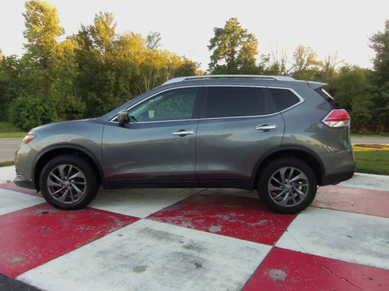 2016 Nissan Rogue for sale at TEAM ANDERSON AUTO GROUP INC in Richmond IN