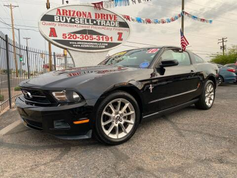 2010 Ford Mustang for sale at Arizona Drive LLC in Tucson AZ